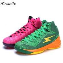 Обучение студентов Баскетбол школьная обувь тренажерный зал спортивные кроссовки удобные Basketballing обуви