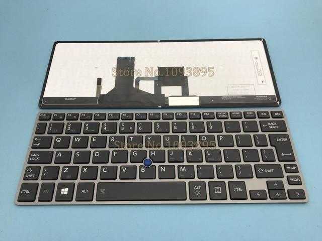 72f3ece5334 NEW English keyboard For Toshiba Portege Z30 Z30B Z30T-B Z30-B English  Keyboard
