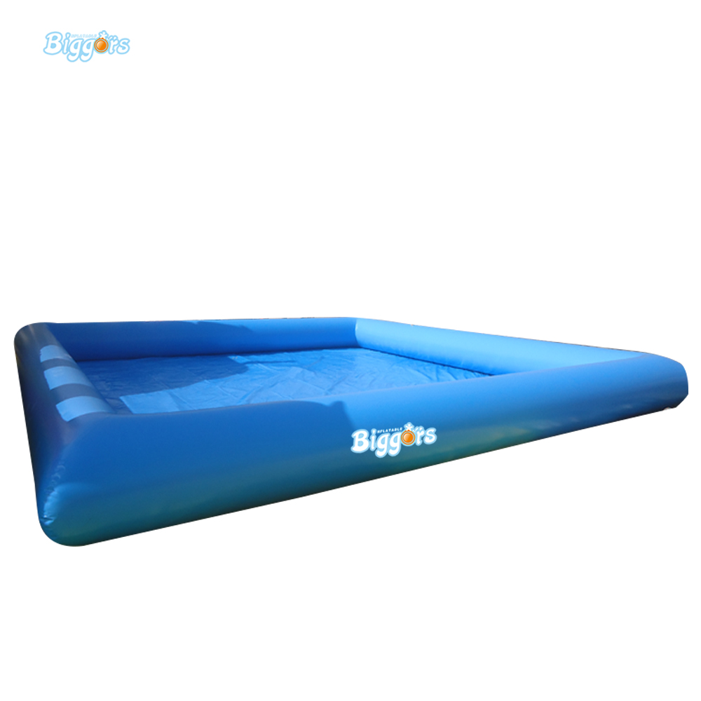 Large Commercial Inflatable Swimming Pool Inflatable Pool commercial sea inflatable blue water slide with pool and arch for kids