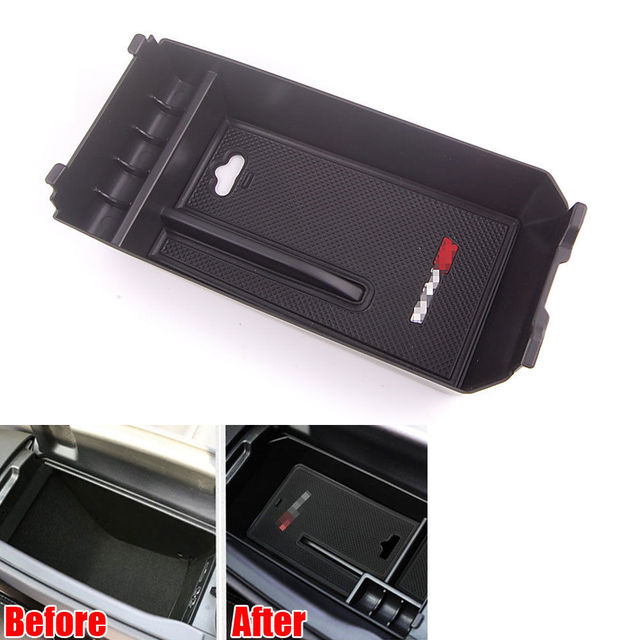 Armrest Secondary Storage Box Pallet Case For C Class W205 C180 200 260 Car Styling Auto Accessories