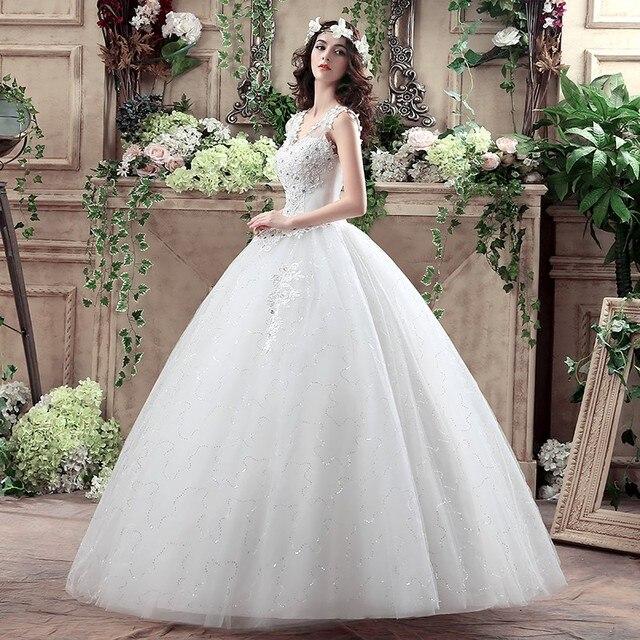 Robe De Mariage Cheap Wedding Dresses Under 100 Ball Gowns Bridal ...
