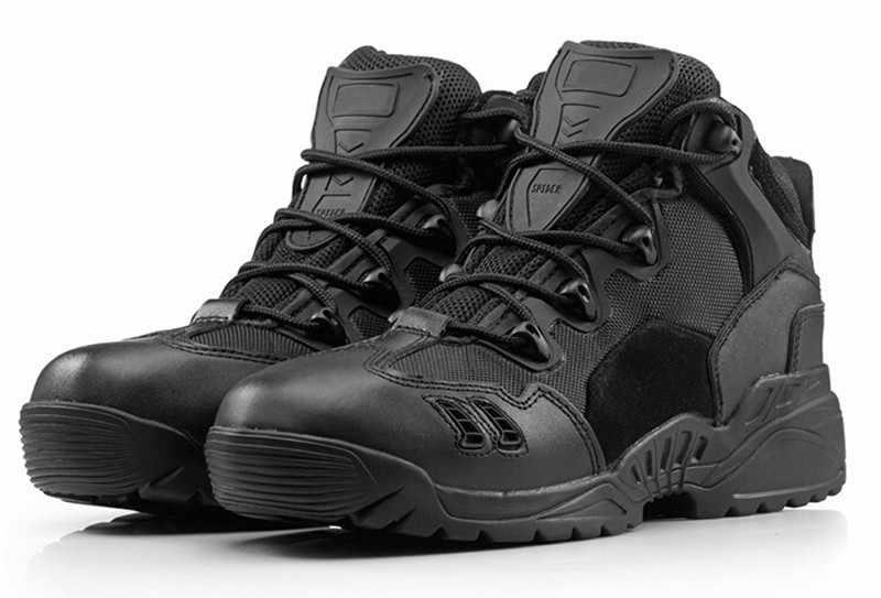 Waterdichte outdoor army Tactical Mannen Militaire Laarzen Top Kwaliteit Delta Desert Combat Laarzen Schoenen Ademend Klimmen sneaker
