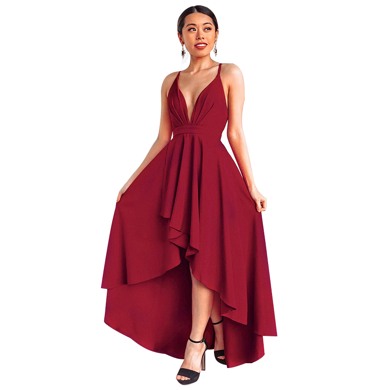 Summer Sexy Dress Women Wine Red Beach Long Bandage Multiway Convertible Dresses Infinity Wrap Robe Boho Maxi Dress Wrap Vestido