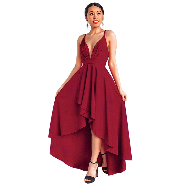 13943df9612 Summer Sexy Dress Women Wine Red Beach Long Bandage Multiway Convertible  Dresses Infinity Wrap Robe Boho