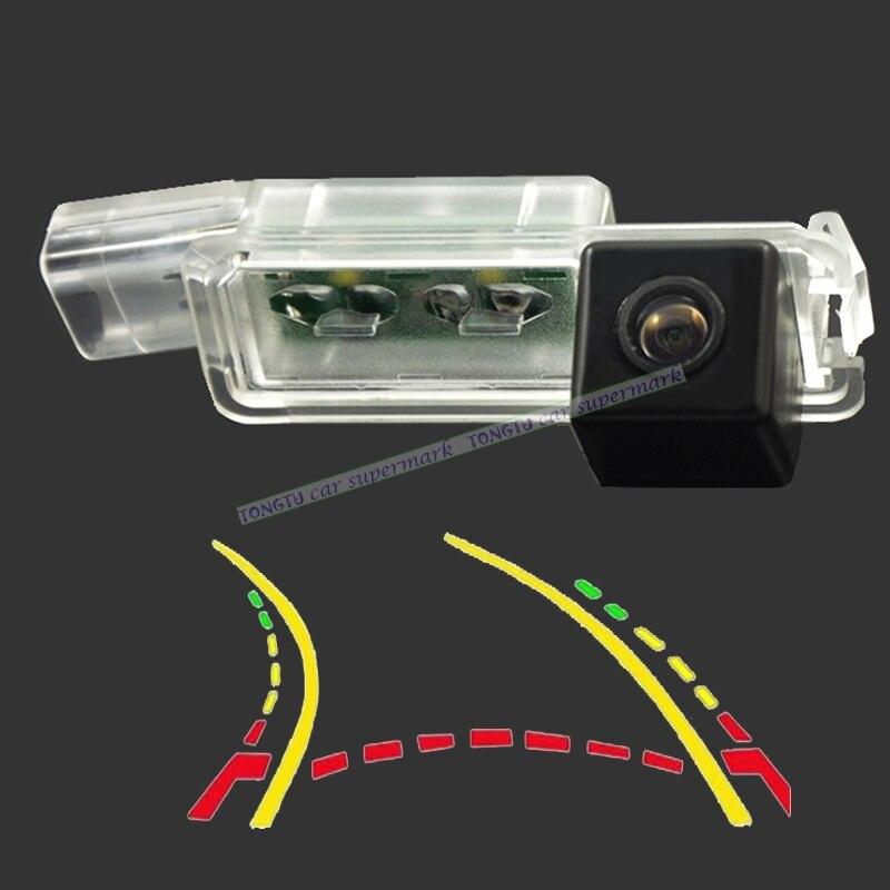 CCD 600 Linie Intelligente Dynamische Flugbahn Tracks Rückansicht Kamera für VW Golf 5/6/7 JETTA Mk5 MK6 TIGUAN Passat B6 B7 Octavia
