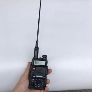 Image 2 - 10pcs Dual band NA771 handheld two way radio antenna 145/435M RH771 orange colour flexible rubber antenna