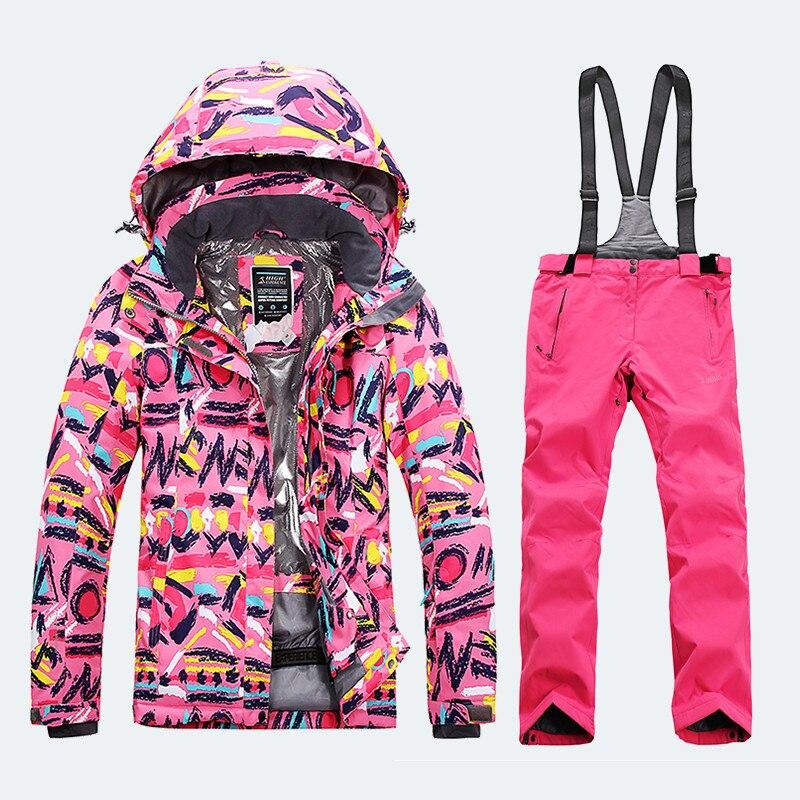 Veste de ski femme combinaison de ski femme