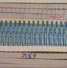 400 шт. 1/4 Вт 5 кольцо цвета металла резистор Точность 1%