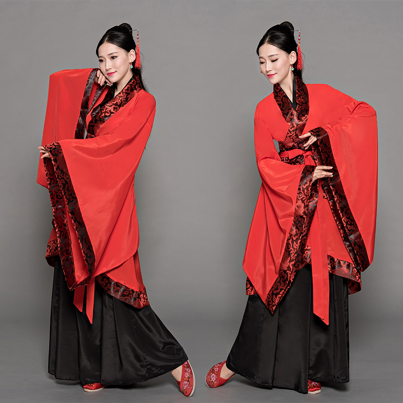 Cosplay Costume National Hanfu Clothing Traditional Women Queen Dress Gown Chinese Ancient Stage Performance Clothes 3XL 4XL