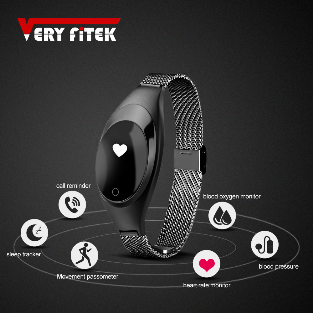 VERYFiTEK V18 Smart Wristband Blood Oxygen Fitness Watch Heart Rate Blood Pressure Oxygen Monitor Smart Watch Women Bracelet цена