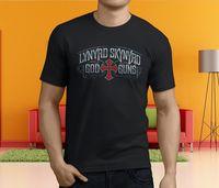 New Popular Free Bird Lynyrd Skynyrd Men S Black T Shirt Size S 3XL
