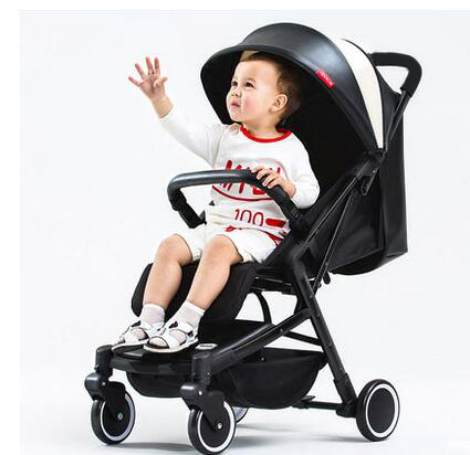 Baby Stroller Ultra Light Can Be Lying Laptop Canopy Folding Mini Four Wheel Child Trolley high profile baby trolley ultra light can be lying down two way four wheel shock baby trolley