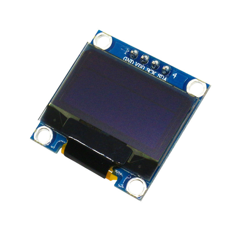 Glyduino 128X64 12864 IIC 0.96 Inch OLED LCD LED Display Module Yellow Blue Double Color for Arduino 0.96 IIC SPI