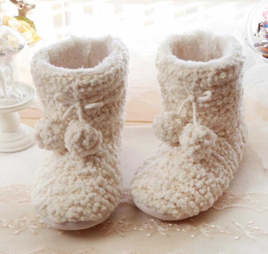 Christmas snow warm plush home indoor shoes home slippers plush cotton slippers couple gifts winter cotton slippers shoes 36-41