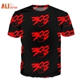 Alisister Estilo Harajuku Carta Emoji Camiseta de Impresión de Las Mujeres/de los hombres Gráficos Camiseta Para Hombre 3d Camiseta Carlton 300 Puntos camisetas