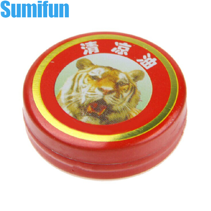 Chinese Red Tiger Muscle Massager Relax Essential Oil Balm Refresh Influenza Treatment For Cold Headache Stomachache Dizziness