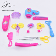Simulation Dressing Table Make Up Hairdressing Kids Educational Funny  Puzzle Simulation Toys Pretend Play Gadget For Children