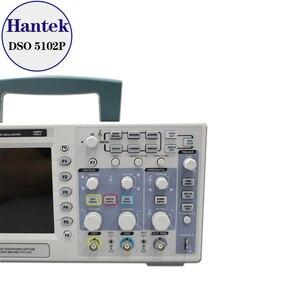 Image 3 - Hantek DSO5102P הדיגיטלי אוסצילוסקופ 100MHz 2 ערוצים 1GSa/s קצב דגימה בזמן אמת USB מארח וקישוריות מכשיר 7 אינץ