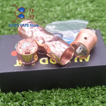 Avid lyfe Brass copper Aluminum  Material Mechanical Mod 18650 battery e cigarette kit 24mm diameter mod vs sob mod kit e l truth lavish lyfe