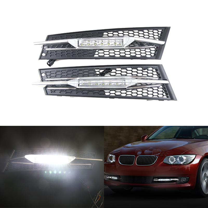 Ford Fiesta 2006-2008 Front Bumper Fog Grille Without Lamp Hole Driver Side New