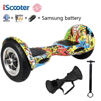 Hoverboard Two Wheels Electric Scooter Smart Balance Scooter 10inch Hoverboard Standing Boost Smart Skateboard Roller UL2272