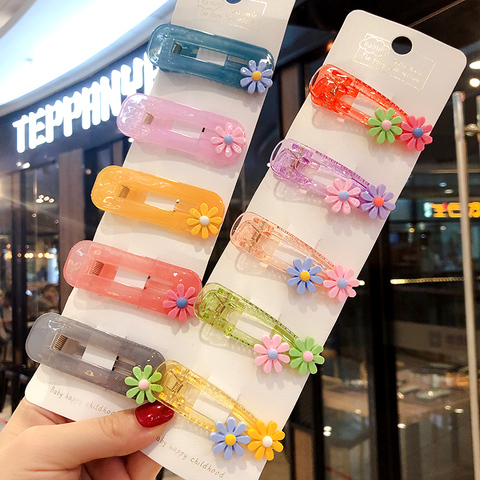 2019 Ins 5Pcs/Set Baby Girls Fruit Sequin Princess Shiny Colorful Hair Clips Sweet Headwear Hair Accessories Hairpins Barretts Islamabad