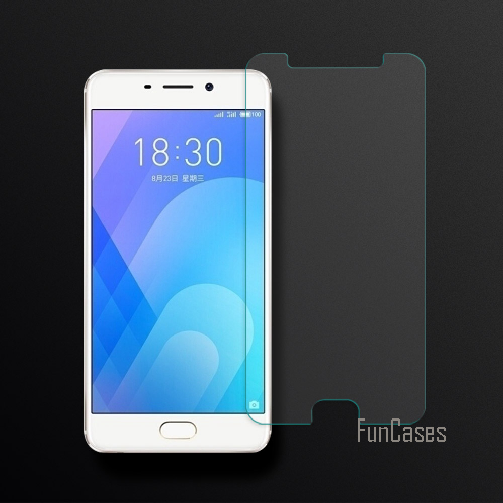 Tempered Glass For Meizu M6 Note / Blue Charm Note 6 Note6 Screen Protector Film For Meizu M6 Note 2.5D Curved Edge Screen 0.26 image