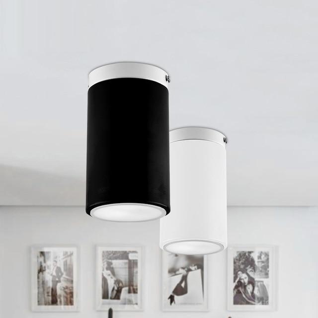 modern minimalisme kleine ronde plafond verlichting entree gang balkon creatieve winkels kantoor plafond lampen fabriek e27