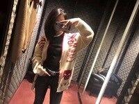 S01431 Модные женские свитеры для женщин 2019 взлетно посадочной полосы Элитный бренд Европейский дизайн вечерние Стиль Женская одежда