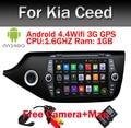 Android 5.1 2 din Car DVD GPS Quad core RK3188 1024*600 screen For KIA CEED 2013 2014 2015 GPS WIFI car stereo Car radio audio