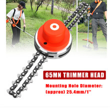 ASCENDAS 65MM Lawn Mower Trimmer Head Chain Brushcutter for Garden Grass Brush Cutter Tools Parts Gardening Tools Trimmer TP-156