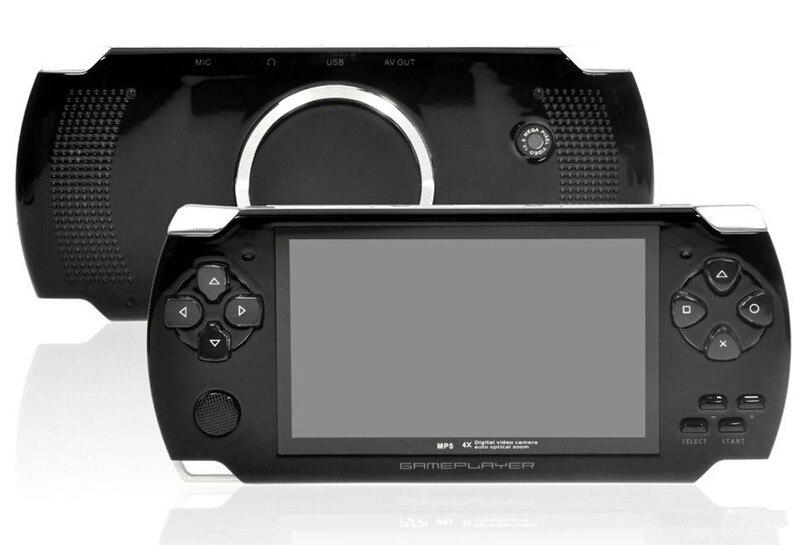 Nouveau lecteur MP4 MP5 8 GB 4.3 pouces PMP lecteur de jeu Portable S3000 vidéo FM caméra Console de jeu Portable