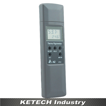 Hygrometer Display Temperature & Humidity Tester AZ-8701