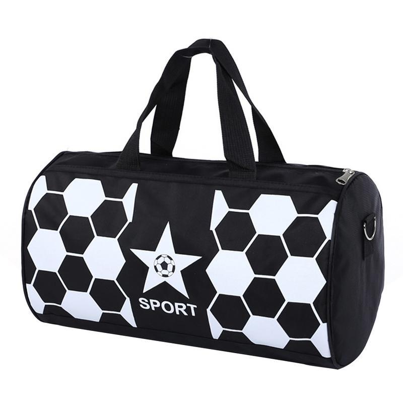 Travel Luggage Duffle Bag Lightweight Portable Handbag Black White Fish Large Capacity Waterproof Foldable Storage Tote
