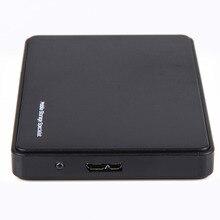 Черный мобильный HDD корпусы случае USB 3.0 на SATA HDD жесткий диск Внешний корпус HDD Box для Окна/mac OS