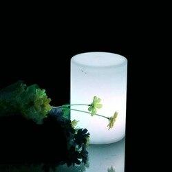 D16 * H36cm polietylen LED Cylinder Mini filar lampki nocne z 24 klawiszy zdalnego sterowania na dekoracje barowe darmowa wysyłka 1pc