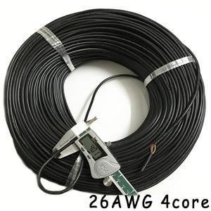 Image 5 - 50 メートル 26AWG 2 コア 3 コア 4 コア 5 コア 6 コア 7 コア 8 コアコンピュータワイヤー UL2464 チャンネルオーディオライン信号ケーブル電気 LED ケーブル