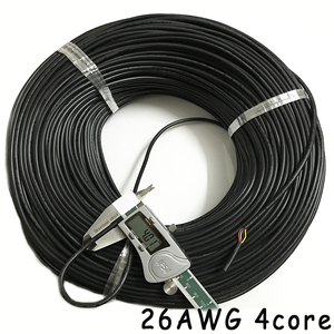 Image 5 - 50m 26AWG 2core 3core 4core 5core 6core 7core 8 core Computer Wire UL2464 Channel Audio Line Signal Cable Electric LED Cable