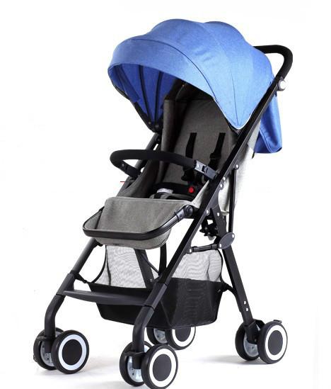 Paisaje de alta cochecito de bebé plegable cochecito de bebé cochecito de bebé plegable puede sacar al bebé carro de niño
