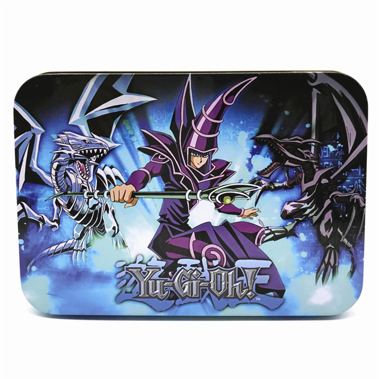 Yugioh 66 Pieces Of Egyptian God Cards Child Toys Yu Gi Oh Legendary Card Game Metal Box