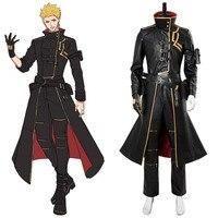 5b166e0a30bba Anime Fate Grand Order Cosplay Costume Fate Gilgamesh Cosplay Costume Full  Sets Suit Concept Dress