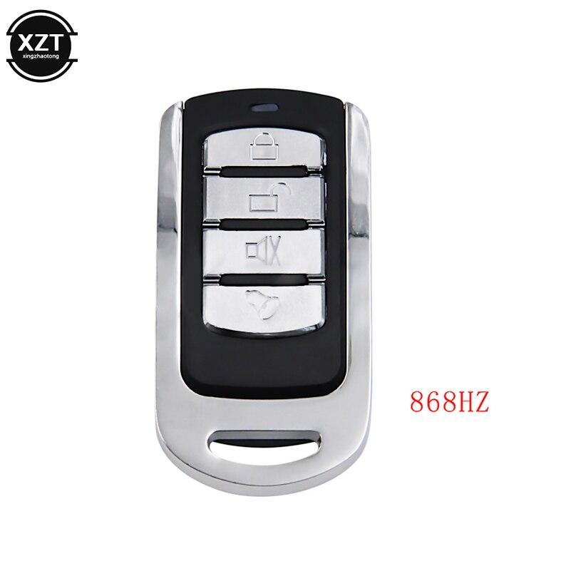 Chaveiro abridor de porta de carro, 868 mhz, 4 botões, interruptor de controle remoto rf, duplicador de código, transmissor de clonagem