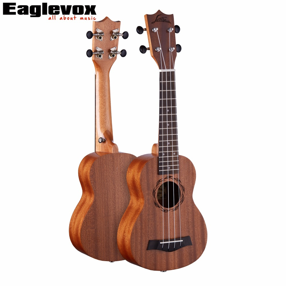 ASSON Sapele Concert Ukulele 23 inch Uku Rosewood Fingerboard Sapele Top Back Side Mahogany Neck 15 Fret U1-23 dji osmo pro raw focus handwheel for osmo pro osmo raw inspire 2 focus controller flip control knob original accessories