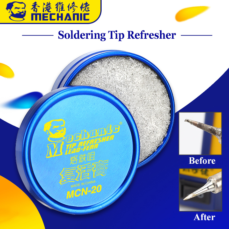 10Pcs lot MECHANIC Soldering Iron Tips Refresher Clean Paste for Oxide Solder Tip Welding Head Resurrection Cleaner
