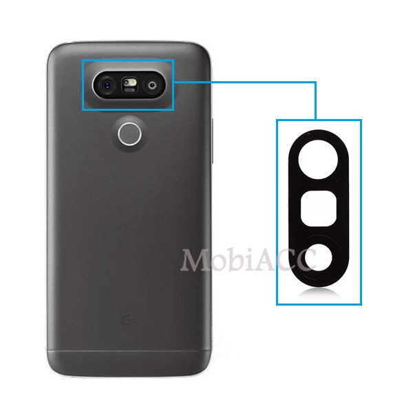 new product d2d68 17a17 US $3.84 15% OFF|WANGFUZHI for LG G5 Back Rear Camera Glass Lens Cover  Replacement Parts with Adhesive Sticker-in Mobile Phone Lenses from  Cellphones ...