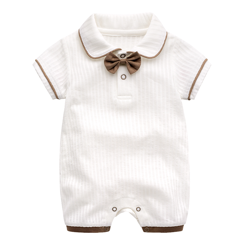 Baby Rompers Summer Baby Girl Romper Brand Newborn Baby Rompers Boy Clothes Ropa Bebe Girl Short Sleeve Jumpsuit Costumes 0-24M baby rompers baby winter coveralls infant boy girl fleece romper ropa nena invierno knitted stripe jumpsuit bebe newborn outwear