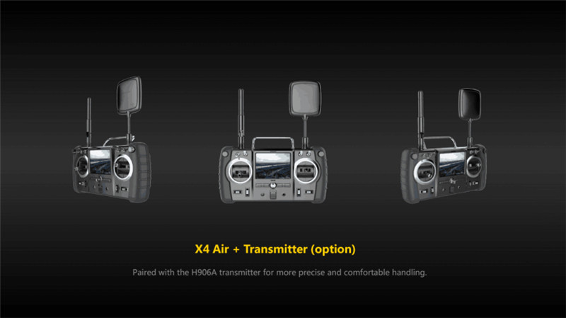 (In Stock) Hubsan X4 AIR H501A+H906A Transmitter with HT500 Relay WIFI FPV Brushless RC Quadcopter With 1080P Camera Drone RTF