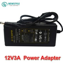 12V 3A  AC/DC Power Supply Charger Transformer Adapter 5050 3528 LED RGB Strip light Without Plugs