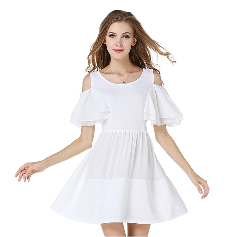 Popular White Chiffon Summer Dress-Buy Cheap White Chiffon Summer ...