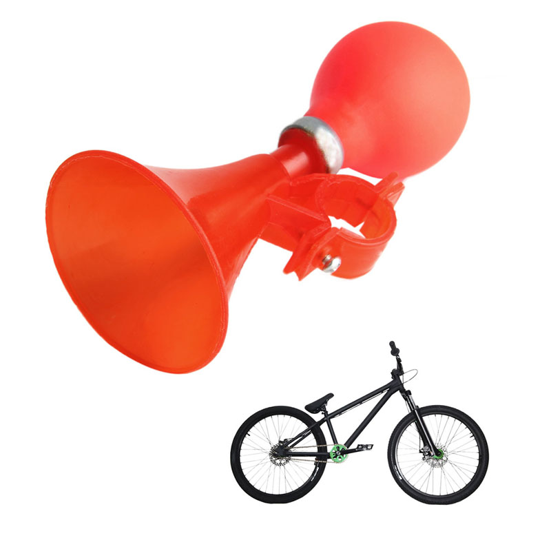 New 2017 arrival Kid Bicycle Plastic Horn Bell Ball Trumpet Warning Alarm Children Bike Accessory Hot Sale